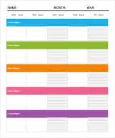 Free Travel Templates by Daily Itinerary Template 7 Free Documents In