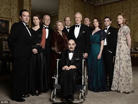 poirot tv guide 23 10 13 what s on tv hercule poirot prepares to unravel his final tv murder after 24 years on television daily mail