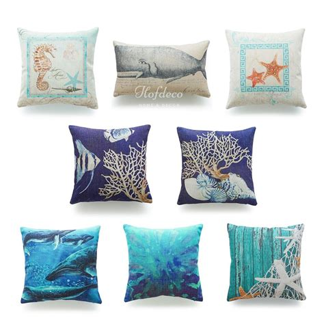 pillows throws decor decorative throw pillow coastal nautical