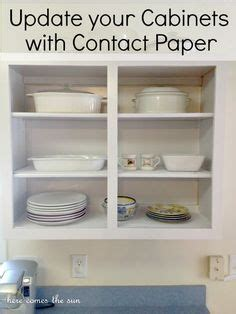 cabinet covers for rentals contact paper cabinets on pinterest rental kitchen