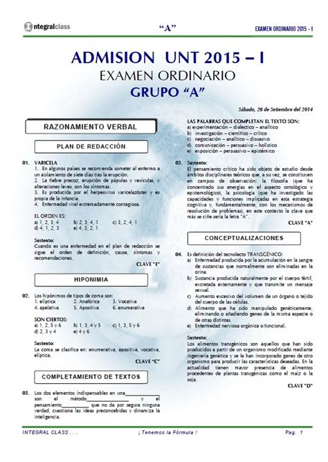 examen de admision a la universidad publicaciones anuies 2015 i