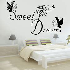 bedroom quote wall stickers wall stickers quotes bedroom ebay