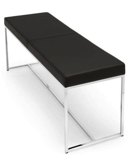calligaris bench calligaris even leather bench