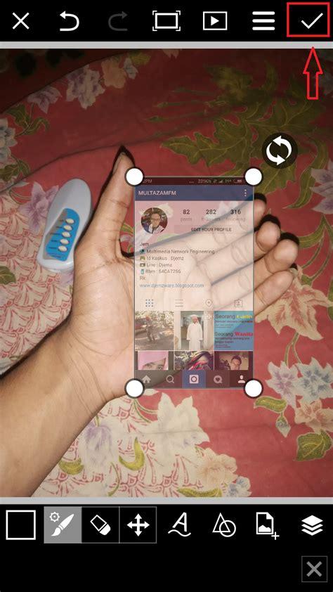 cara membuat gambar instagram in hand zahrainbow cara membuat instagram in my hand with