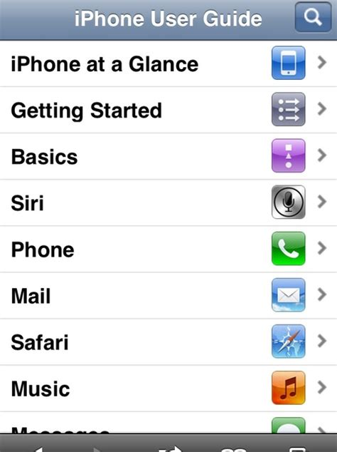 how to find your ios manual iphone ipod touch snapguide