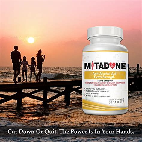 Quit Detox Vitamins by Mitadone Anti Aid With Milk Thistle Kudzu Root
