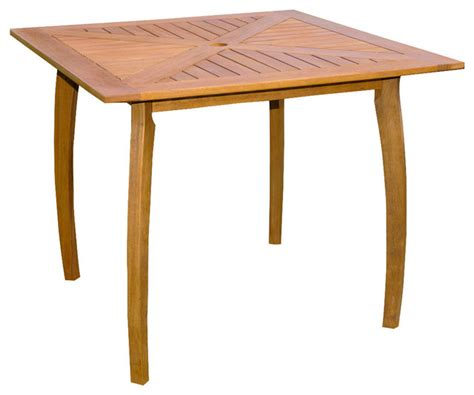 Wood Patio Side Table by Shop Houzz International Caravan Royal Tahiti Outdoor