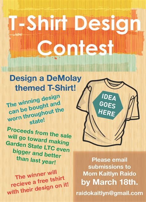 design contest t shirt t shirt design contest nj demolay