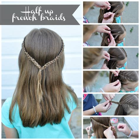 mhaircuta to give an earthy style how to 3 simple hair styles your daughter will love