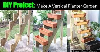 Make A Vertical Garden Diy Project Make A Vertical Planter Garden