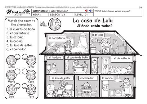 my house in spanish spanish ks2 level 1 my house where are my toys by maskaradelanguages teaching