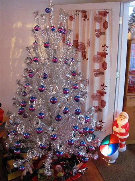 silver tinsel christmas tree with color wheel best 28 silver tree with color wheel silver tree color wheel tinsel