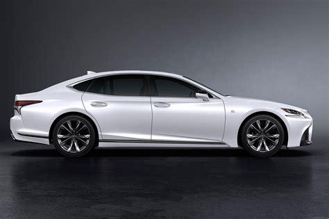 lexus ls   sport unveiled  nyias   car magazine