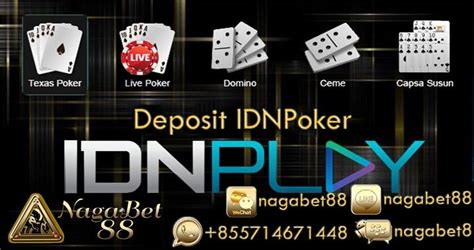 deposit idnpoker idn poker apk