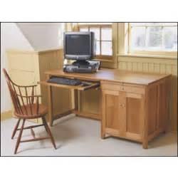 computer desk plan woodworking plans