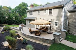 Backyard Outside Backyard Patios Libertystone Hardscaping Systems