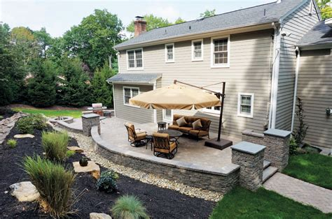 pictures of backyard patios backyard patios libertystone hardscaping systems
