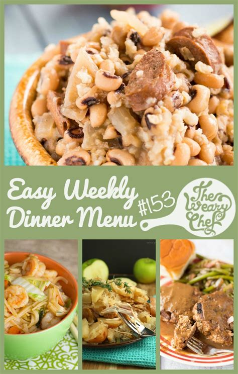 new year dinner what to bring easy weekly dinner menu 153 lucky new years dinners