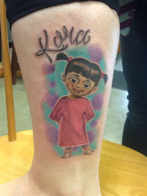 boo tattoo my newest my boo from monsters inc tattoos