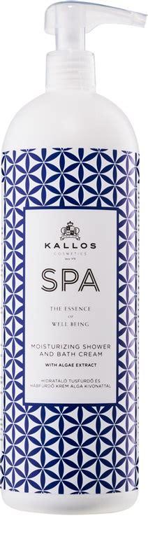 kallos spa gel de ducha kallos spa aceite de ducha y ba 241 o con efecto humectante