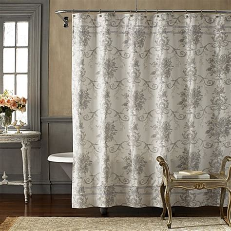 chic shower curtain vintage chic brompton 72 x 72 fabric shower curtain