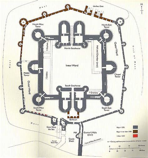 beaumaris castle floor plan rpartage quot rp beaumaris castle