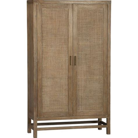crate and barrel china cabinet blake grey wash 2 door cabinet crate and barrel
