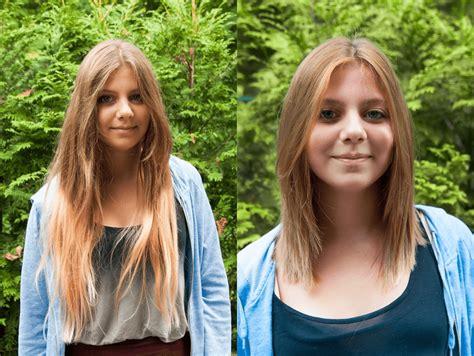 frisuren lange haare vorher nachher frisuren lange haare