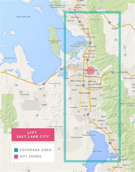salt lake city map lyft map for salt lake city and free ride credits 50 lyft code rideshareinsider