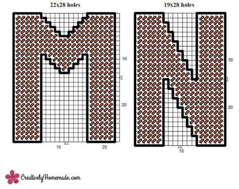 plastic canvas pattern maker free free plastic canvas alphabet patterns letters m r