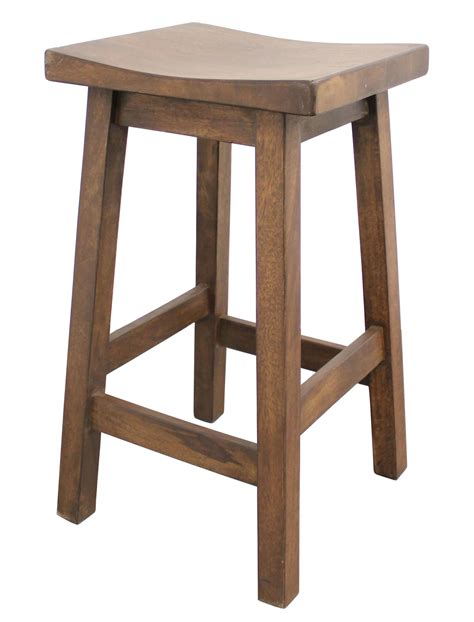 wooden bar bench new cafe del mar wooden barstool ebay