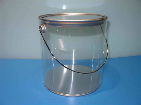 1 Gallon Clear Plastic Paint Cans by 1 Gallon Clear And 1 Gallon Clear Pails Uni