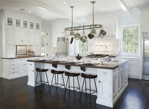 large white kitchen island dreamy white kitchens