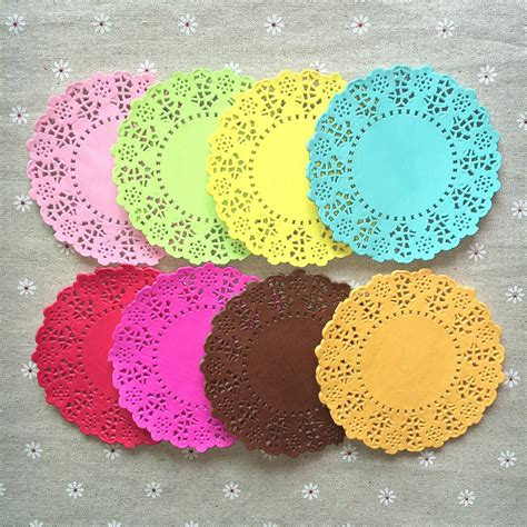Decoupage Placemats - 50pcs 8colors scrapbooking mixed colors 4 5