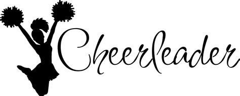 printable cheerleading stencils megaphone stencil cliparts co