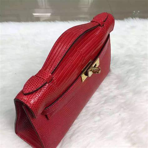 K Croco Mini 22cm Sm24 hermes lizard mini mini jige clutch replica hermes bag