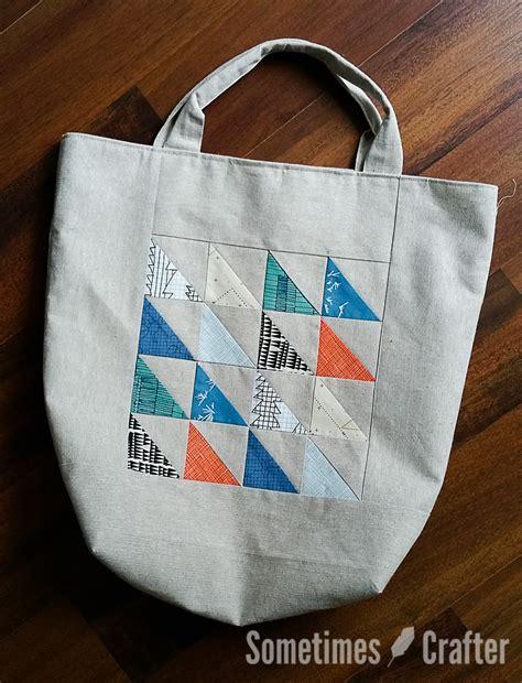 pinterest pattern tote bag hst tote bag pattern sometimes crafter