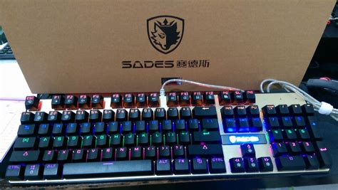 Keyboard Sades K10 jual keyboard gaming sades mechanical k 10 sades k 10 sades k10 hans computer
