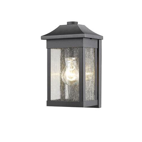 Outdoor Lighting Supplies Sc13100bk 1 Light 6 Quot Black Outdoor Light Artcraft Lighting