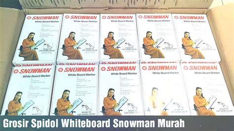 Spidol Whiteboard Snowman 1 grosir spidol whiteboard snowman murah bogor