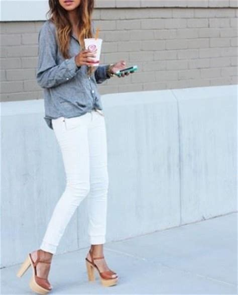 The White Jean Is All About And Summer style guide how to wear white this summer fab