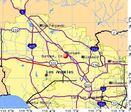 map of burbank ca burbank california ca profile population maps real