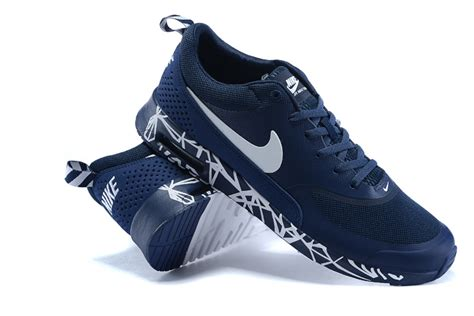 nike blue and white running shoes 2015 nike air max thea print 90 87 running