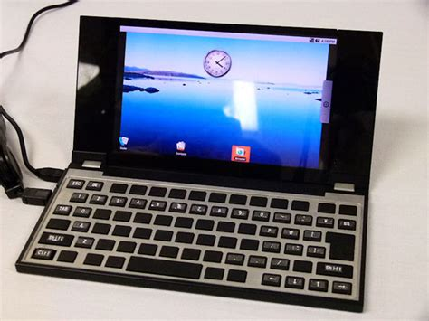 android notebook nec demos android based notebook prototype
