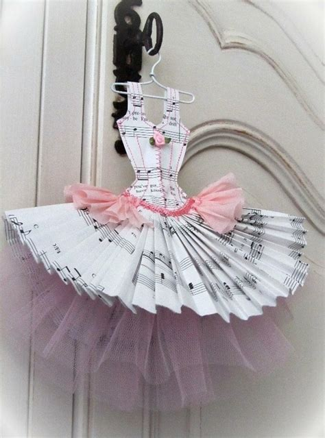 How To Make Paper Dress - paper crafts dress image 588537 on favim