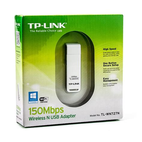 Usb Wi Fi Tp Link Tl Wn727n Wireless N Psp adaptador wireless usb 150 mbps n tl wn727n tp link