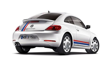 volkswagen beetle classic herbie 2012 vw beetle special edition model pays tribute to