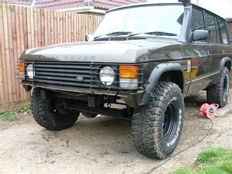 land rover classic lifted range rover lift kit