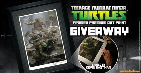 Premium Giveaways - tmnt premium art print giveaway sideshow collectibles