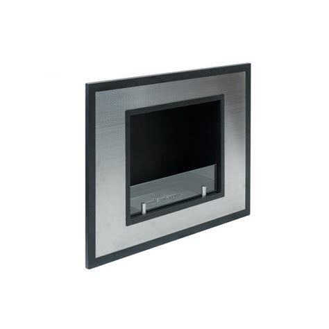 bellezza mini recessed ethanol fireplace newbathroomstyle